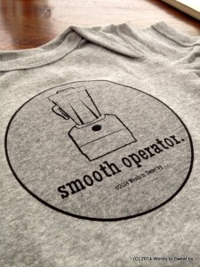 Humorous Fitness Apparel - Smooth Operator Baby & Kid's tee