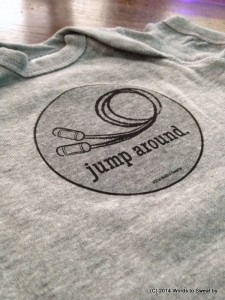 Humorous Fitness Apparel - Jump Around Children's Tee